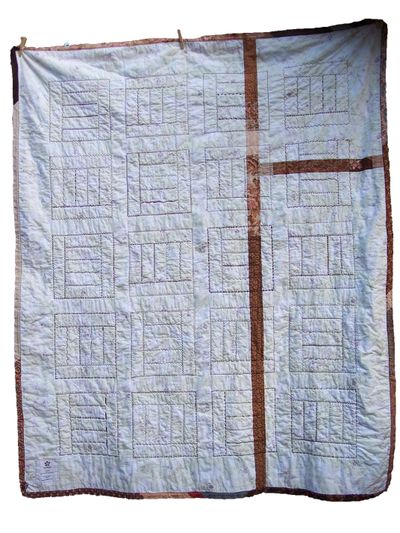 Surrender quilt back