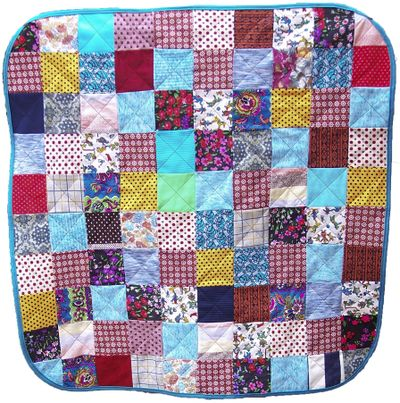 Poly pants baby quilt (front)2