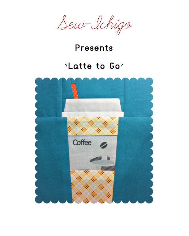Latte to go pattern front page