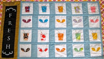 Julia's juice and sprouts quilt4