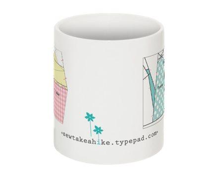 Cupcake teapot mug2