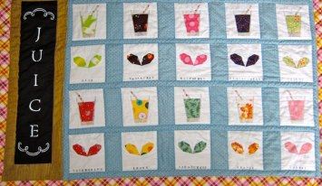 Julia's juice and sprouts quilt2