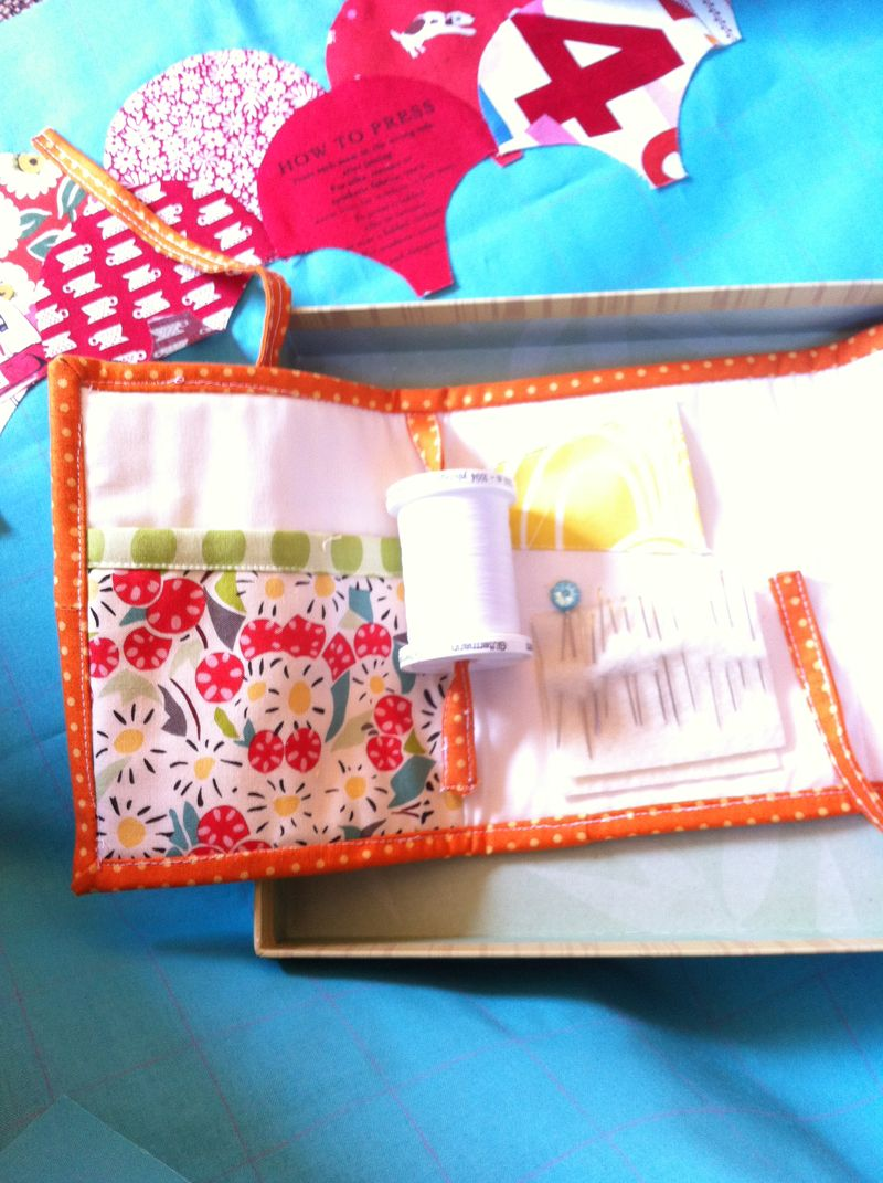Clamshell sewing