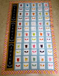 Julia's juice and sprouts quilt5