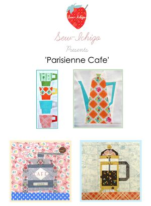 Cafe pattern set pic