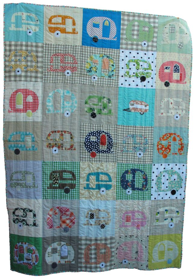 Glamping quilt
