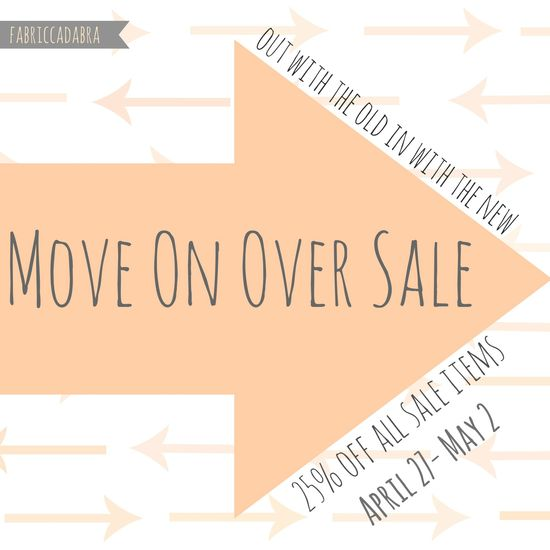 Move over sale 1