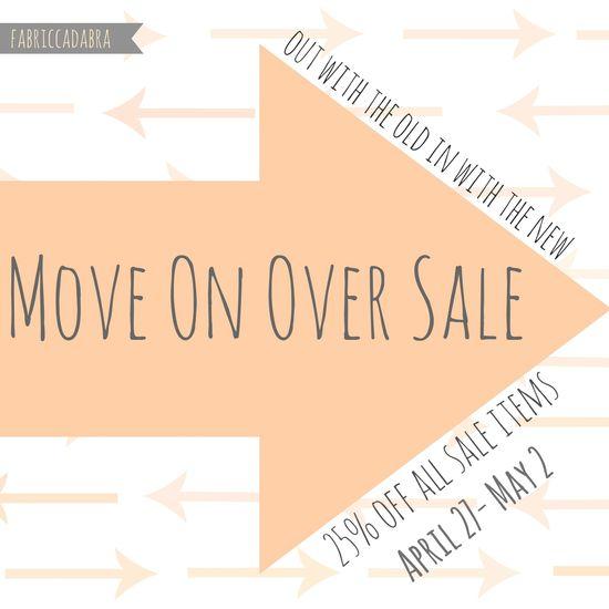 Move over sale 1