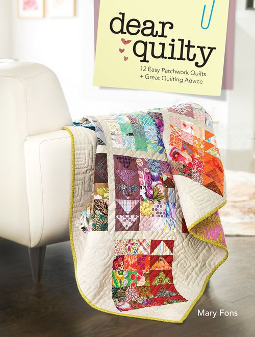 Dear Quilty - jacket art