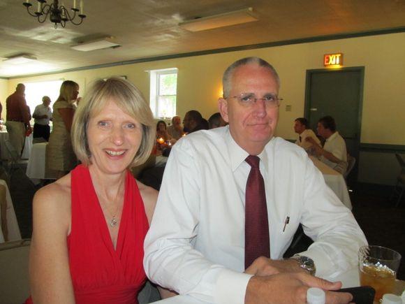 Diane and Mark my husband